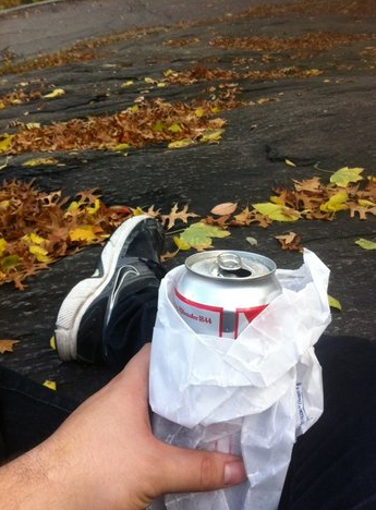 Beer in Park