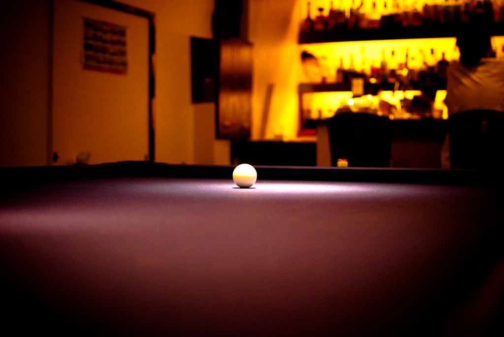 How Not To Play Pool Blunderbuss Magazine - How to play pool table